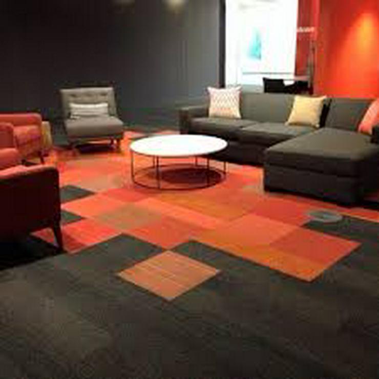 Bild 4: Decorative orange Teppichfliesen von Interface *Jetzt 3,75€