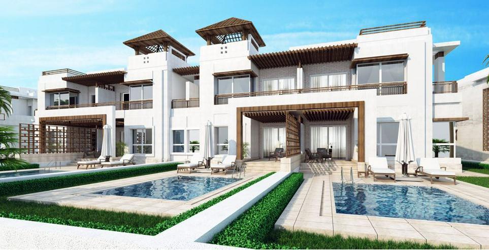 Ägypten Sahl Hashees AL CAMAR 2 Raum Meerblick Strand Garten - Wohnung kaufen - Bild 4