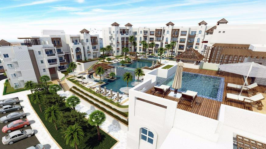 Bild 1: Ägypten Sahl Hashees AL CAMAR 2 Raum Meerblick Strand Garten