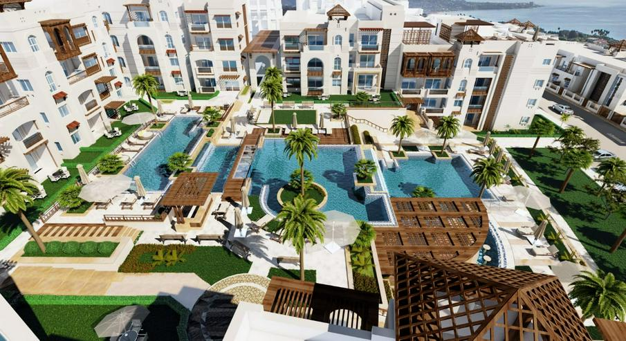 Bild 12: Ägypten Sahl Hashees AL CAMAR 2 Raum Meerblick Strand Garten