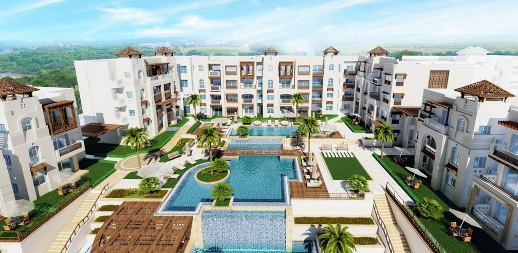 Ägypten Sahl Hashees AL CAMAR 2 Raum Meerblick Strand Garten - Wohnung kaufen - Bild 16