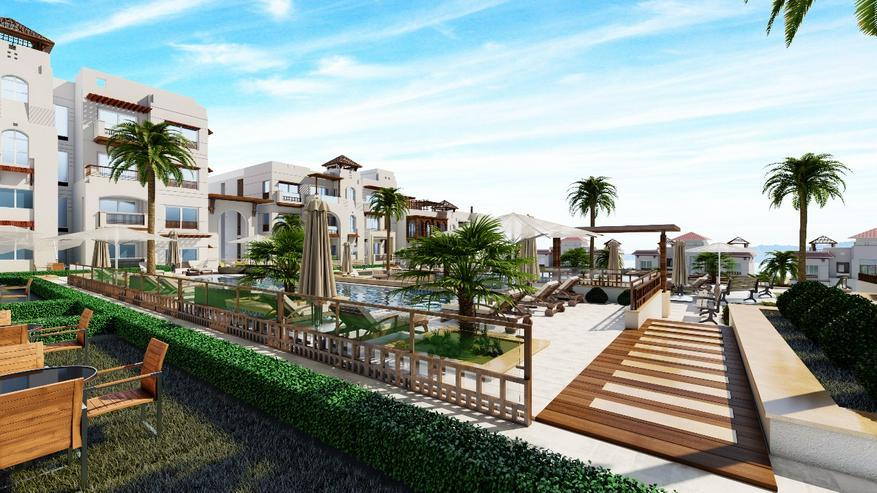 Ägypten Sahl Hashees AL CAMAR 2 Raum Meerblick Strand Garten - Wohnung kaufen - Bild 10