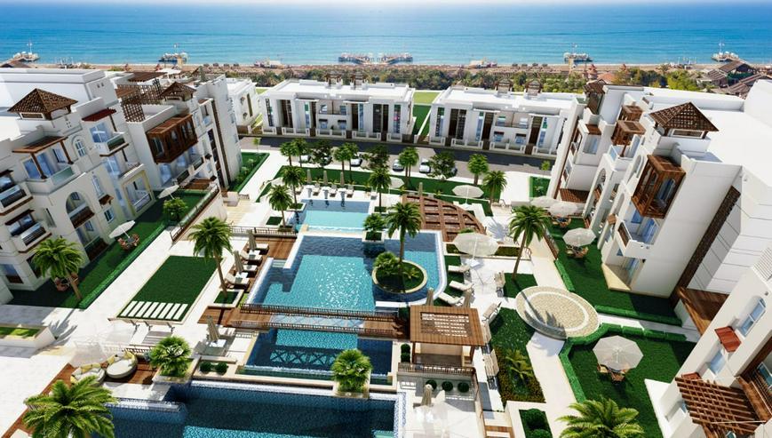 Ägypten Sahl Hashees AL CAMAR 2 Raum Meerblick Strand Garten - Wohnung kaufen - Bild 13