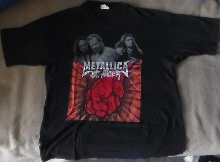 Metallica St.Anger T-Shirt Musik Fan-shirt Heavy Metal Größe M