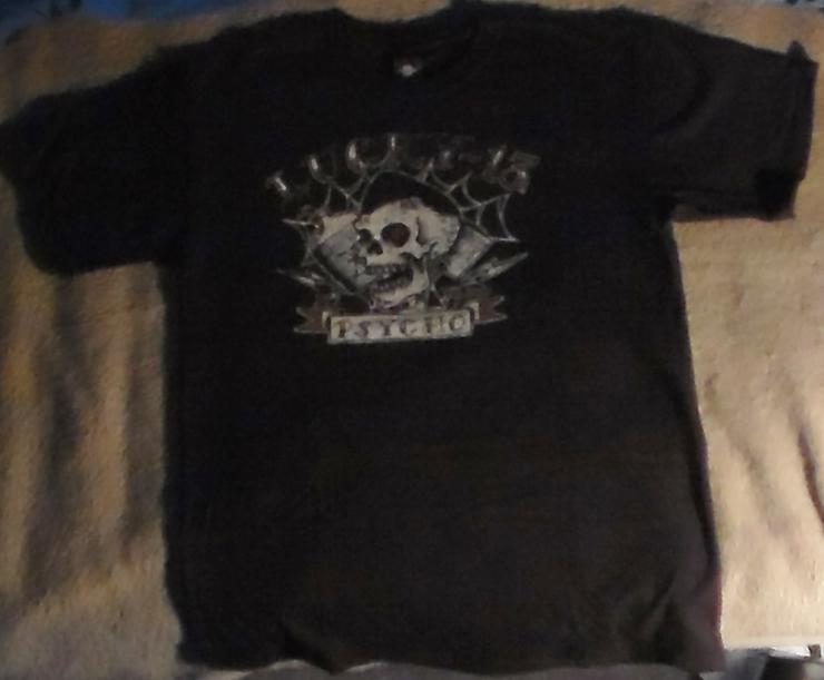 Lucky 13 Psycho T-shirt Größe M Rock'n'Roll Rockabilly Teddy Rock