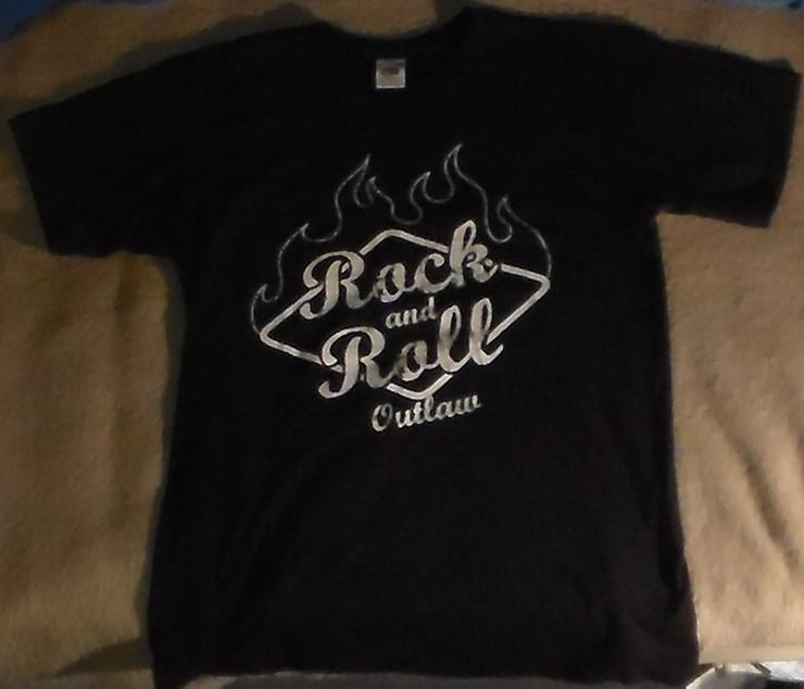 T-shirt Rock'n'Roll Outlaw Größe M Rock'n'Roll Teddy Rockabilly Rock