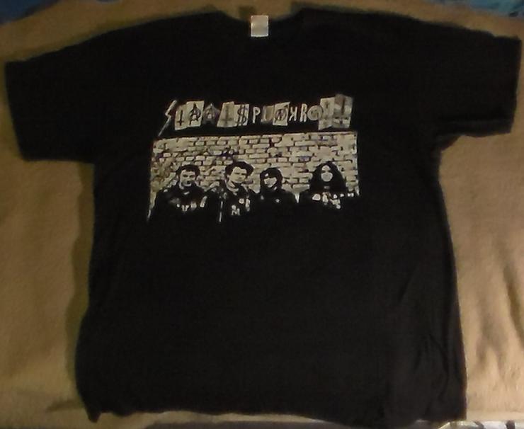Staatspunkrott T-Shirt, Punk, Hardcore, Deutschpunk, Merchandise, Fan-Shirt, Größe L