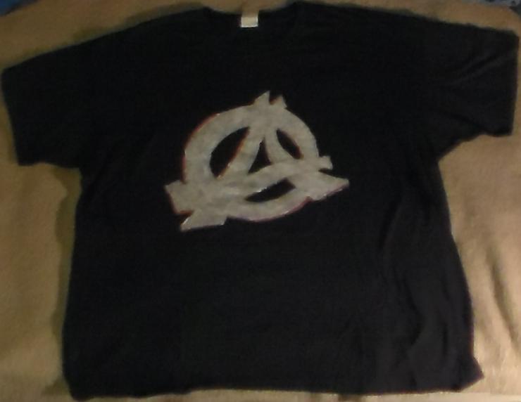Anarchie T-Shirt Wartet nicht bis zum Tage X, Punk, Politik, Anti-System, Größe XL