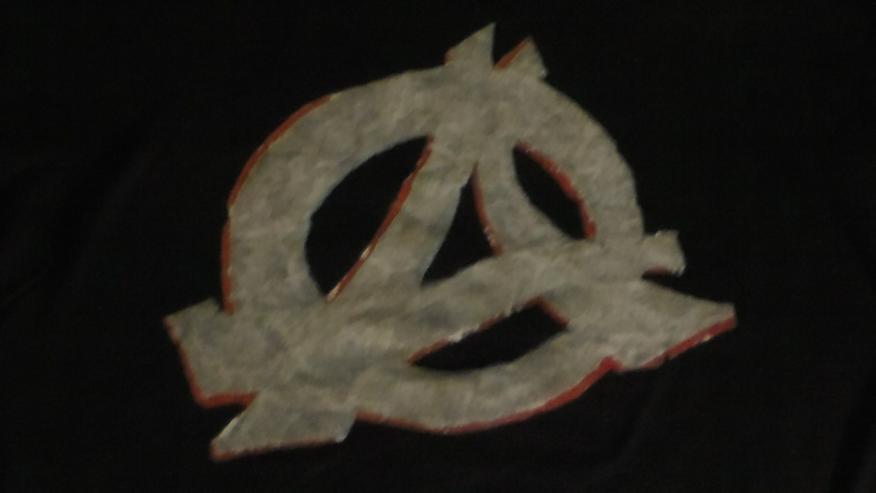 Bild 2: Anarchie T-Shirt Wartet nicht bis zum Tage X, Punk, Politik, Anti-System, Größe XL