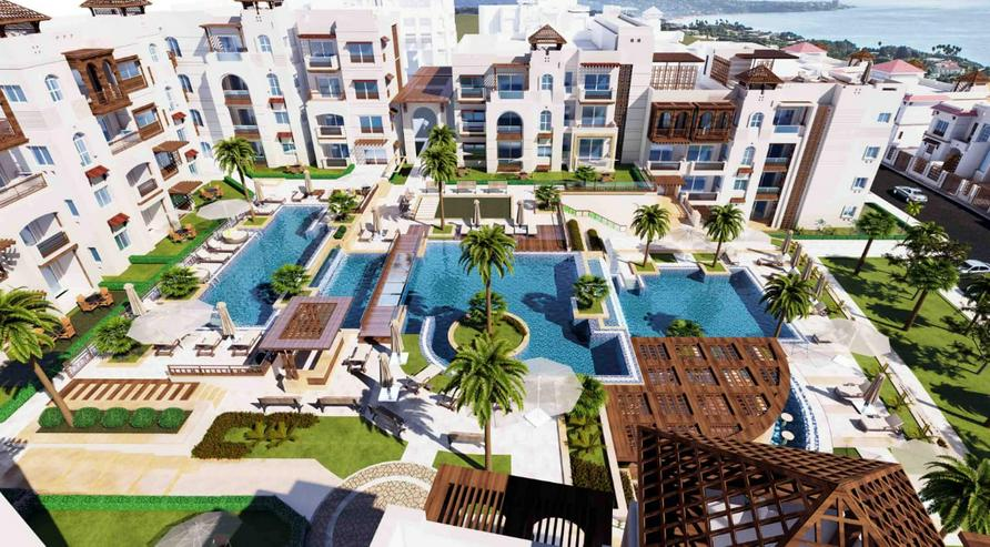 Ägypten 168m² Luxuswohnung mit Panorama Meerblick Sahl Hashees