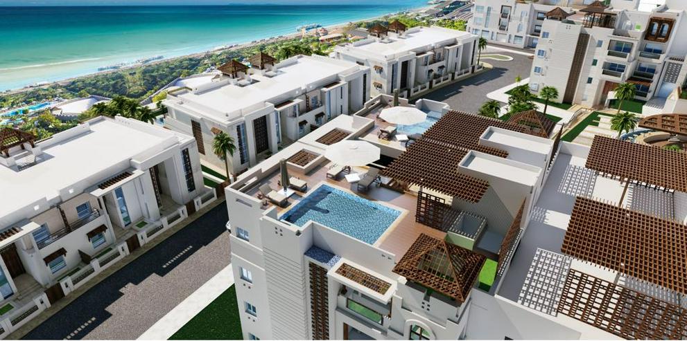 Ägypten Dachterrasse mit Pool Penthouse 244m² Meerblick Strand