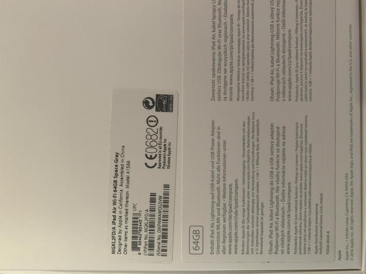 Bild 6: Apple iPad Air Wi-Fi 64GB + iPhone 6 64GB + Zubehör als Komplettpaket