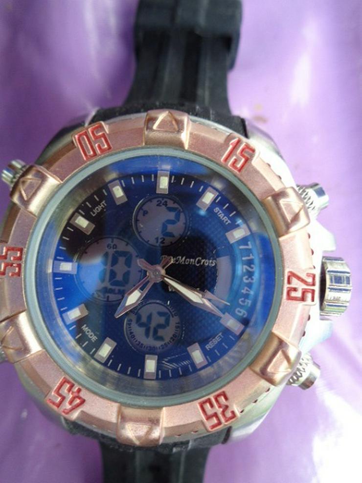 Bild 3: Herrenarmband Uhr Eve Mon Crois 1805 Sehr gute Verarbeitung