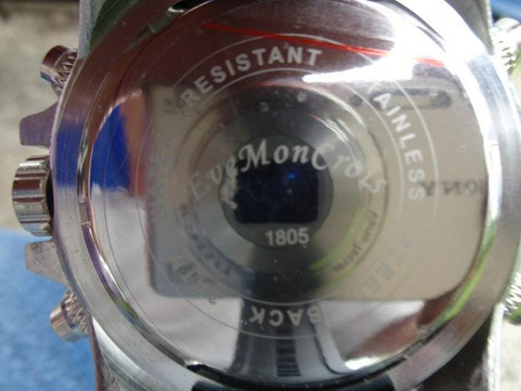 Bild 2: Herrenarmband Uhr Eve Mon Crois 1805 Sehr gute Verarbeitung