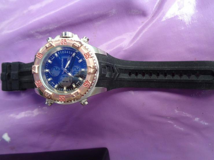 Bild 4: Herrenarmband Uhr Eve Mon Crois 1805 Sehr gute Verarbeitung