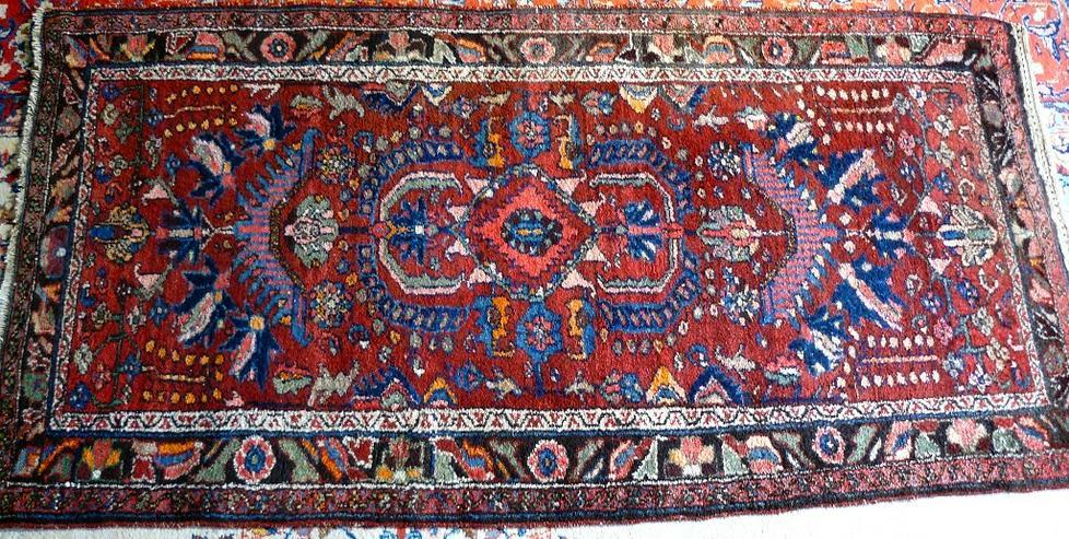 Orientteppich  Sandjan alt 182x96 (T098)