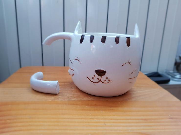 Bild 4: Katzentasse
