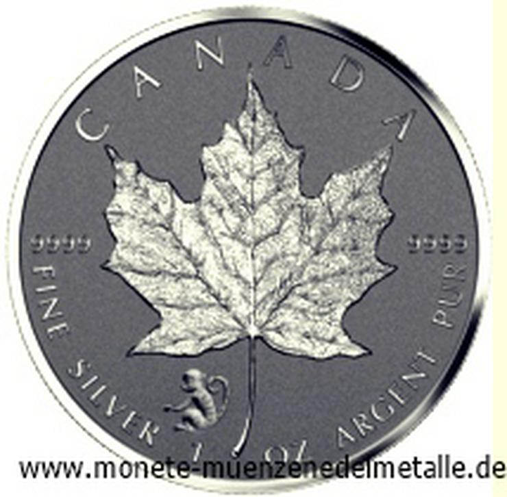 Kanada 5 Dollar Maple Leaf Privy Mark Affe 2016 Silber Münze
