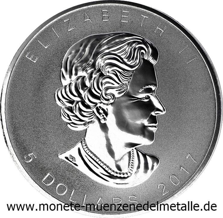 Bild 2: Kanada 5 Dollar Maple Leaf Privy Mark Affe 2016 Silber Münze