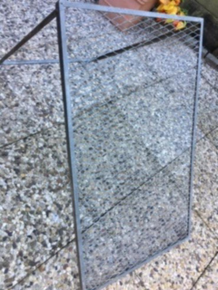 Metalldurchwurfsieb verzinkt 100X60 cm zu verkaufen