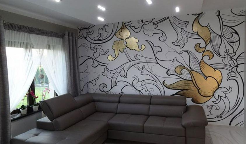 Bild 5: Professionelle Malerarbeiten in Wohnungen und Einfamilienhäusern. Klassisch ein- oder mehrfarbig oder kreativ mit individuellen Grafiken.