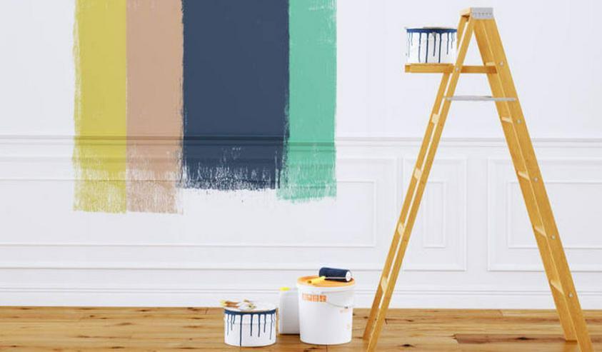 Bild 7: Professionelle Malerarbeiten in Wohnungen und Einfamilienhäusern. Klassisch ein- oder mehrfarbig oder kreativ mit individuellen Grafiken.