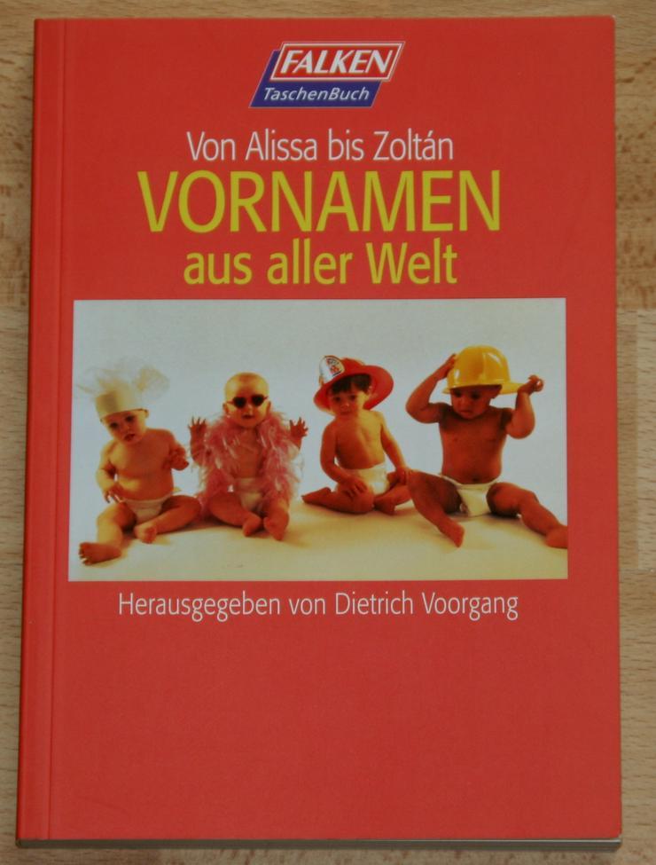 """NEU - Buch """"Vornamen aus aller Welt"""" - für werdende Eltern - NEU - Babyfone & Überwachung - Bild 1"""