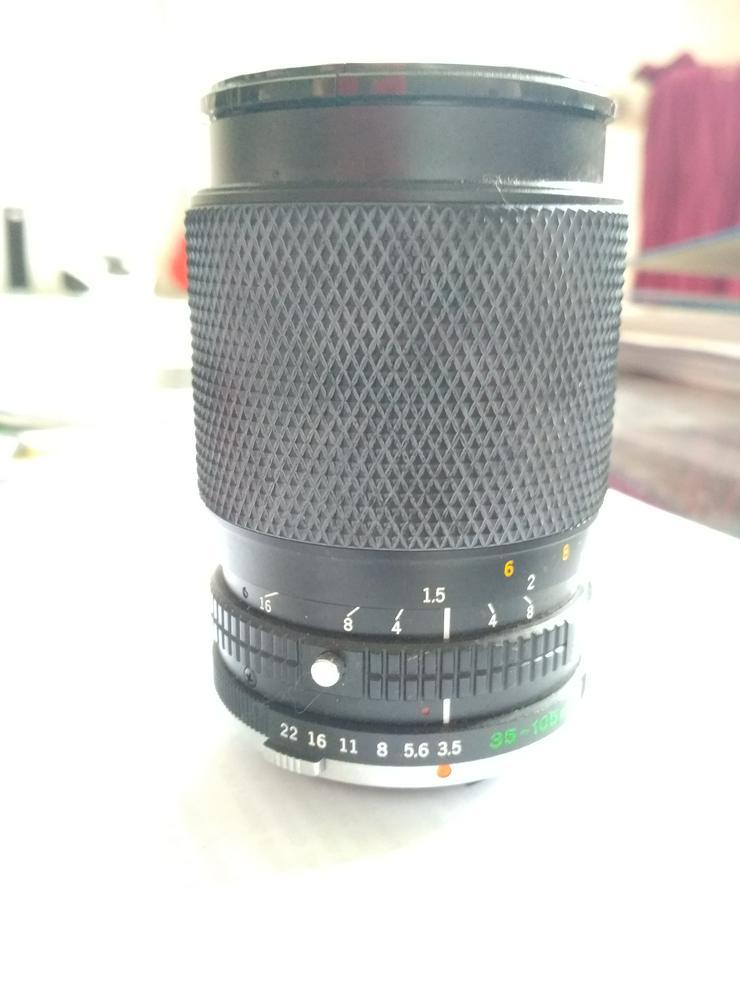 Olympus Zuiko Auto Zoom 35-105mm - Objektive, Filter & Zubehör - Bild 1