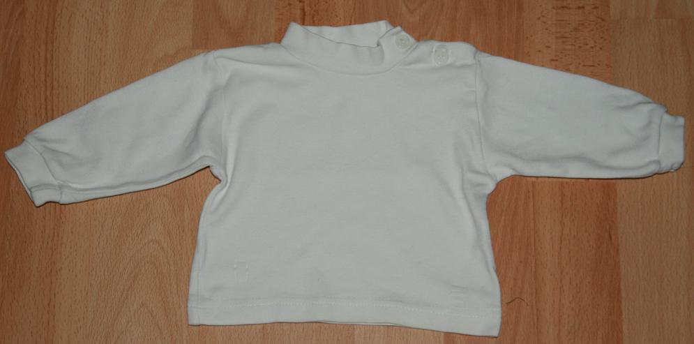 Bild 5: SET - Bunte Latz-Hose & Shirt- Größe 62 - 2teilige Kombination