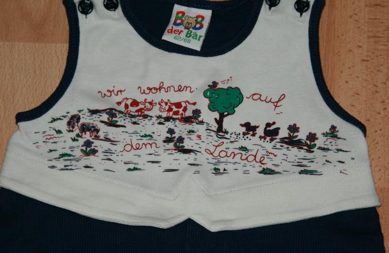 Bild 3: SET - Baby-Strampler & Hemd - Größe 62 - 68 - von BOB der BÄR