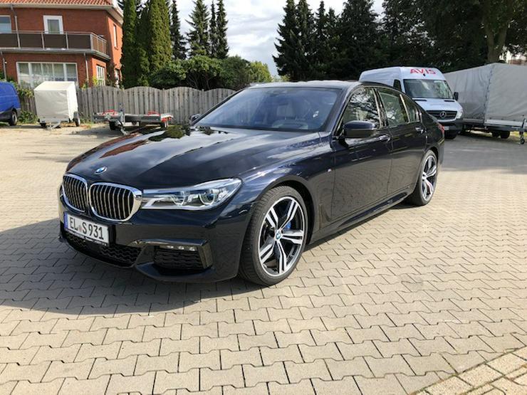 BMW 7er, 740d xDrive -Limousine Mieten - Geschäftswagen Mieten- Hochzeitswagen - PKW Mieten!