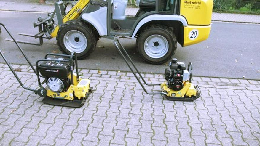 Radlader - Bagger - Minibagger - Rüttler - Mieten - Baumaschinen & Baustelle - Bild 1