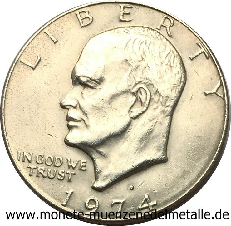 Bild 2: Usa 1 Dollar Eisenhower 1974