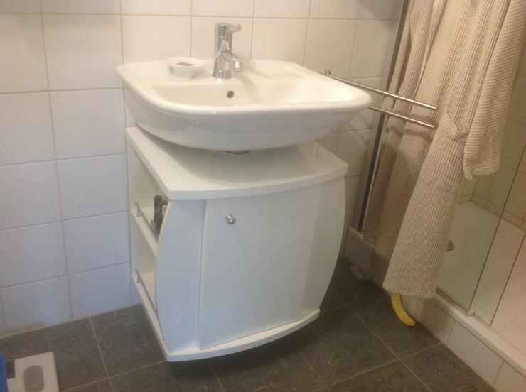 Verkaufe gut erhaltenen Badezimmer Unterschrank für Waschbecken