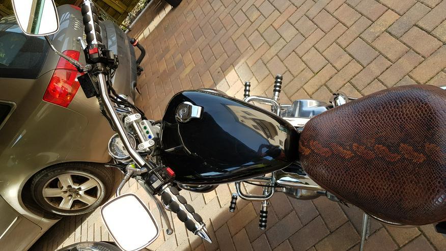 Bild 4: Yamaha xv 535 virago