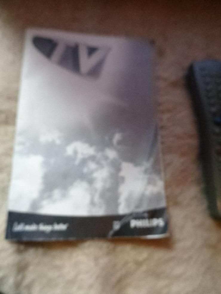 Bild 2: Sehr guter Fernseher PHILIPS mit Fernbedienung und Beschreibung  Er hat 2 Scart Anschlüsse