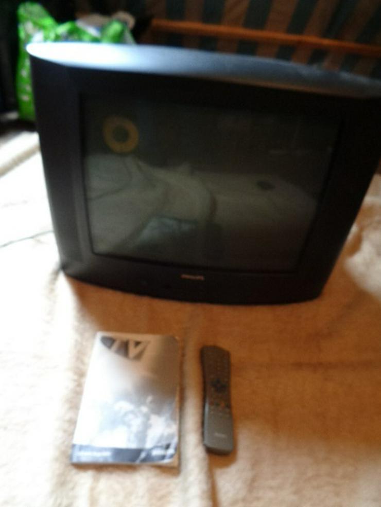 Sehr guter Fernseher PHILIPS mit Fernbedienung und Beschreibung  Er hat 2 Scart Anschlüsse - Weitere - Bild 1