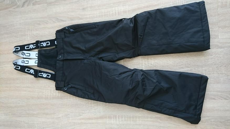 Skihose schwarz Größe 116