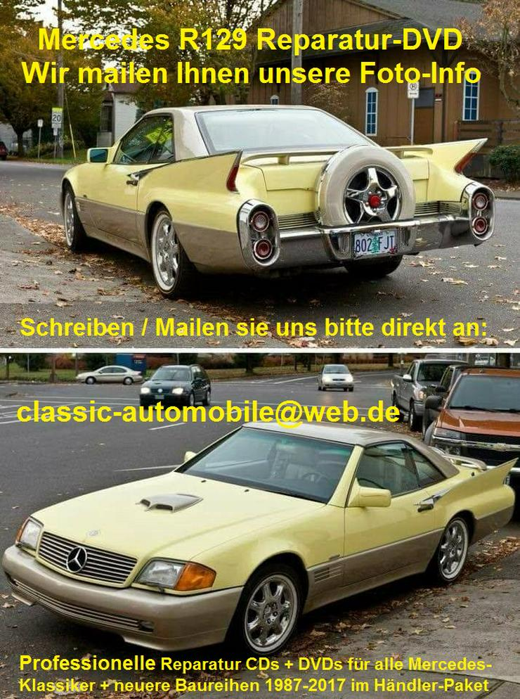 Bild 5: Mercedes SL 129 - R129 Reparatur DVD Service + Videos SL-Bildschirmschoner uvm.!