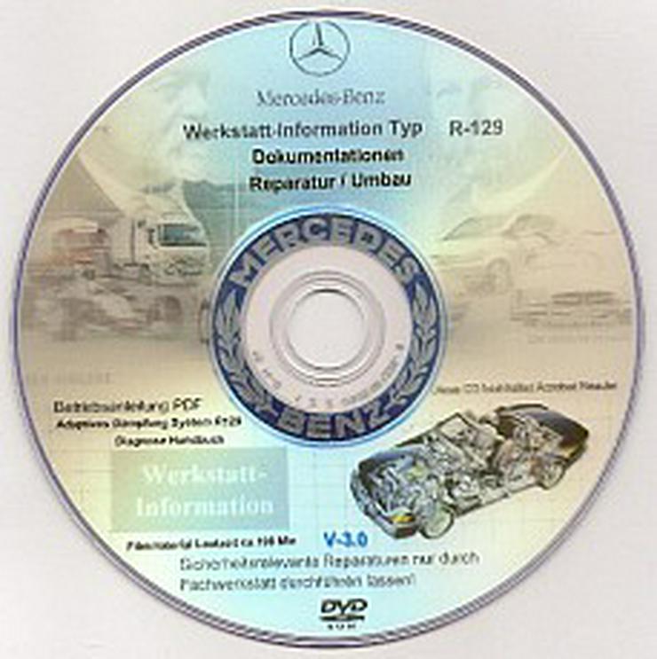 Bild 2: Mercedes SL 129 - R129 Reparatur DVD Service + Videos SL-Bildschirmschoner uvm.!