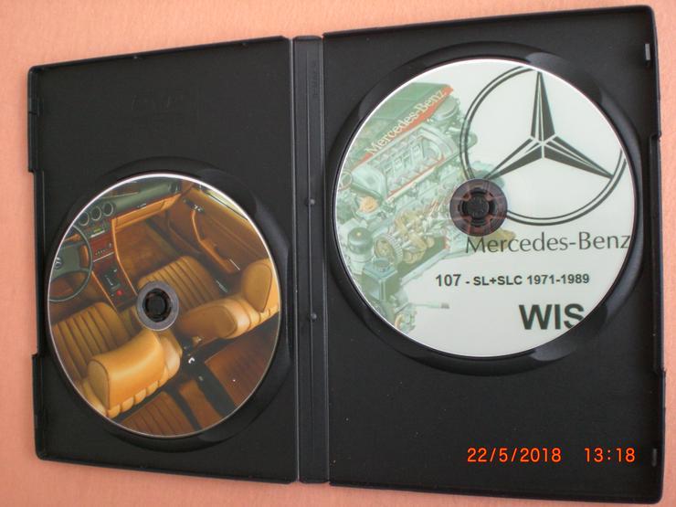 Bild 3: Mercedes 107 SL SLC 280 450 560 - Werkstatt Reparatur Service Profi CD Werkstatthandbuch 1971-1989