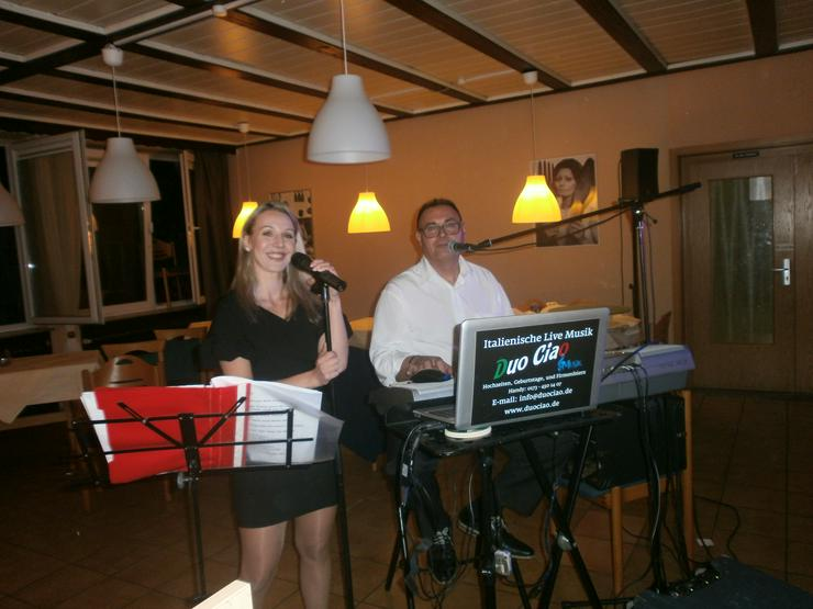Bild 2: ITALIENISCHE DEUTSCH HOCHZEIT PARTYBAND LIVE MUSIK DUO CIAO