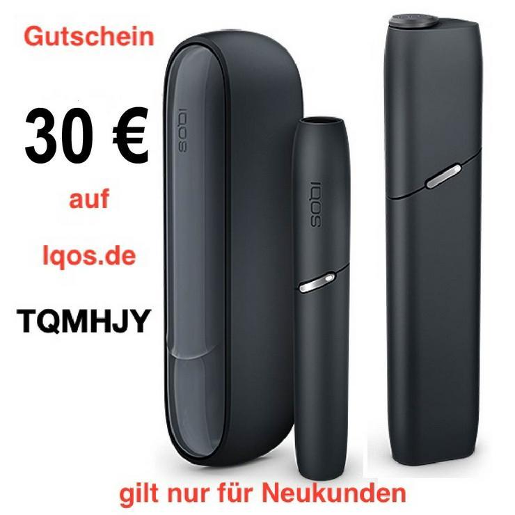 30€ Gutschein für Neukunden von IQOS mit folgendem Code TQMHJY