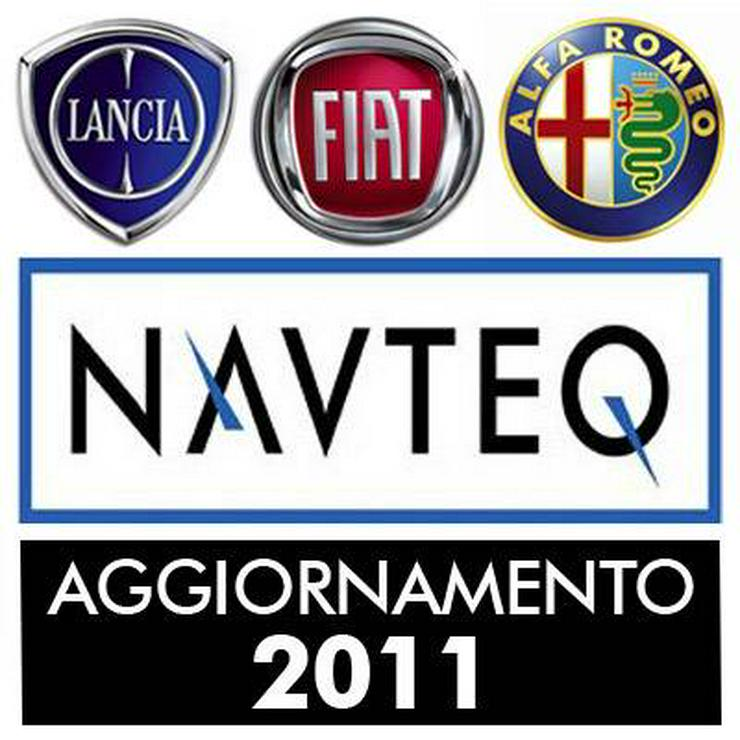 Lancia Thesis Lybra + Alfa Romeo 166 + 159 + 147 - Fiat 5 Navigations Navi CD Set - Elektrik & Steuergeräte - Bild 1