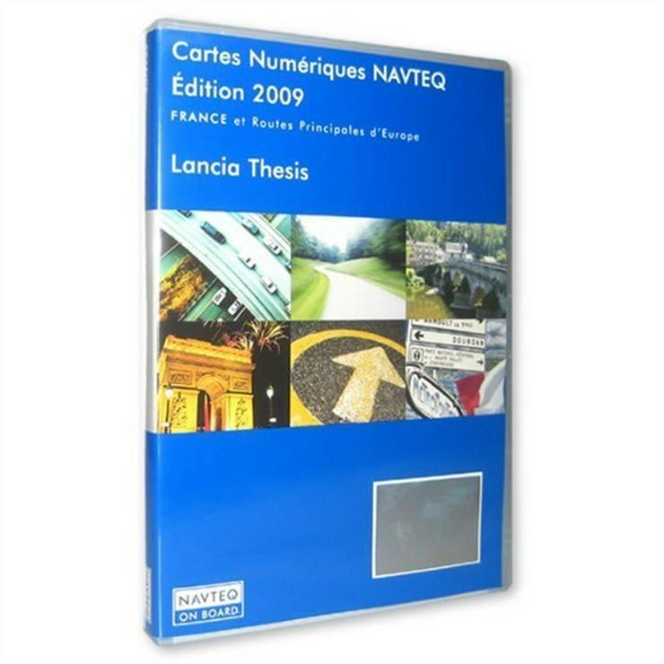 Bild 3: Lancia Thesis Lybra + Alfa Romeo 166 + 159 + 147 - Fiat 5 Navigations Navi CD Set