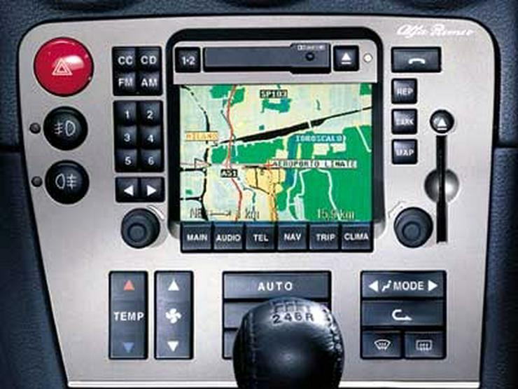 Bild 5: Lancia Thesis Lybra + Alfa Romeo 166 + 159 + 147 - Fiat 5 Navigations Navi CD Set