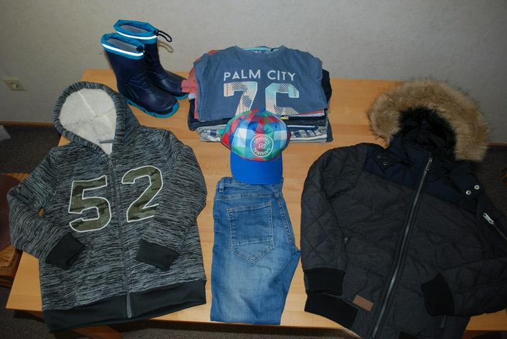 Jungen Kleidungspacket 134-140 Winterjacke, Hose, Shirt Top!!