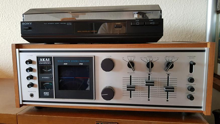 Bild 2: AKAI AA-8500 Receiver / Tuner Stereoanlage mit 2 x 120 Watt Boxen zu verkaufen