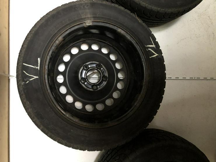 Bild 2: Winterkompletträder Pirelli 205/60 R 16 auf Stahlfelgen