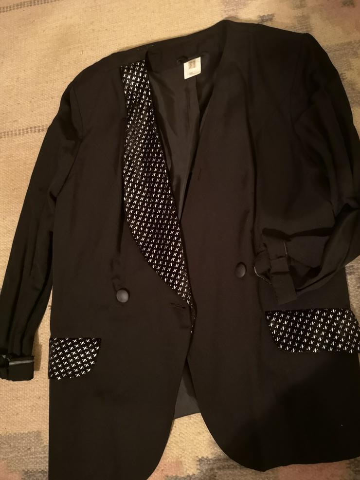 Bild 2: Eleganter Blazer schwarz Größe 40